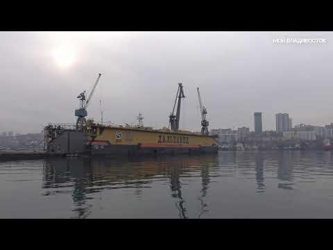 Владивосток набережная Цесаревича.