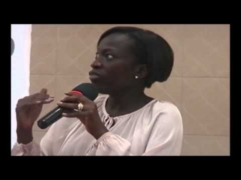 Patricia Nzolantima (International Working Lady) at Startup Grind Lubumbashi