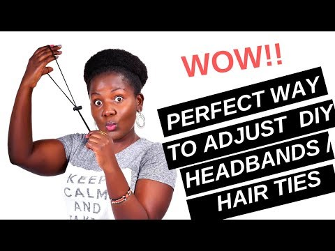HOW TO DO A PUFF WITHOUT TENSION | PAINLESS HIGH PUFF| WITH A CORD LOCK STOPPER!
