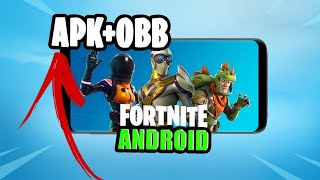 💥 BOMB!! DOWNLOAD FORTNITE FOR ANDROID BY #MEGA (APK AND OBB) 2018. DON'T WASTE TIME.