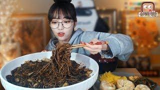 짜장면이 땡기는날! 짜장면 한그릇먹방!!! 슈기♬ Shugi Mukbang eating show