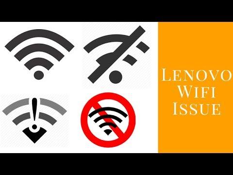 Lenovo Ideapad Wifi issue fixed