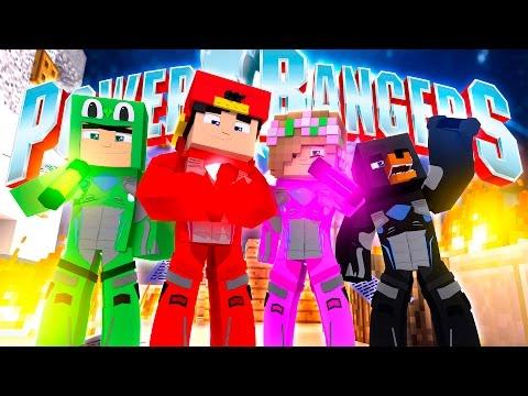 POWER RANGERS - TRAINING - PROTECT THE ENERGEMS!!!