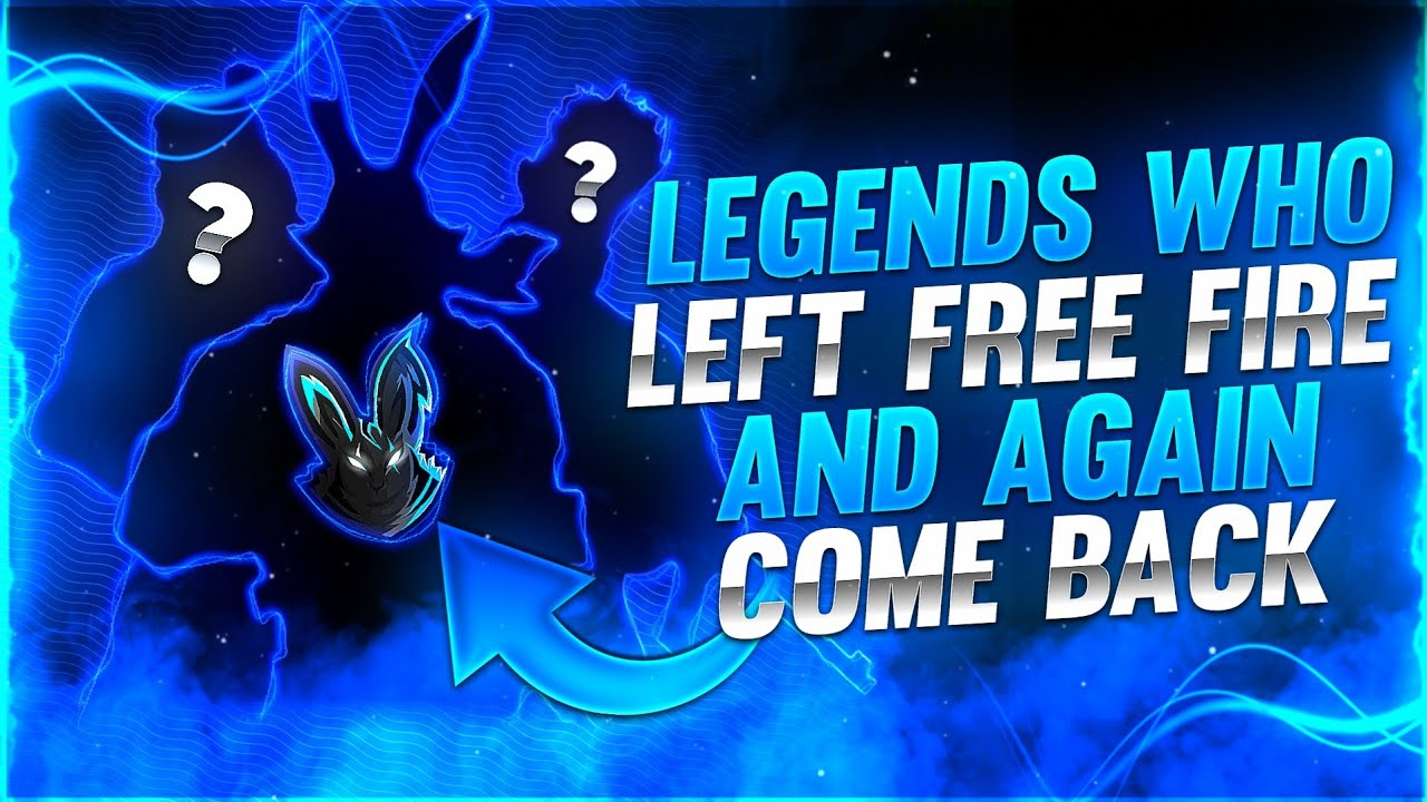 LEGENDS WHO LEFT FREE FIRE AND AGAIN COME BACK😱🔥|| KNOW THE MYSTERY😱|| GARENA FREE FIRE