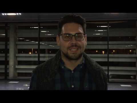Héctor Gómez saludando a la Peña Valencianista de Forocoches