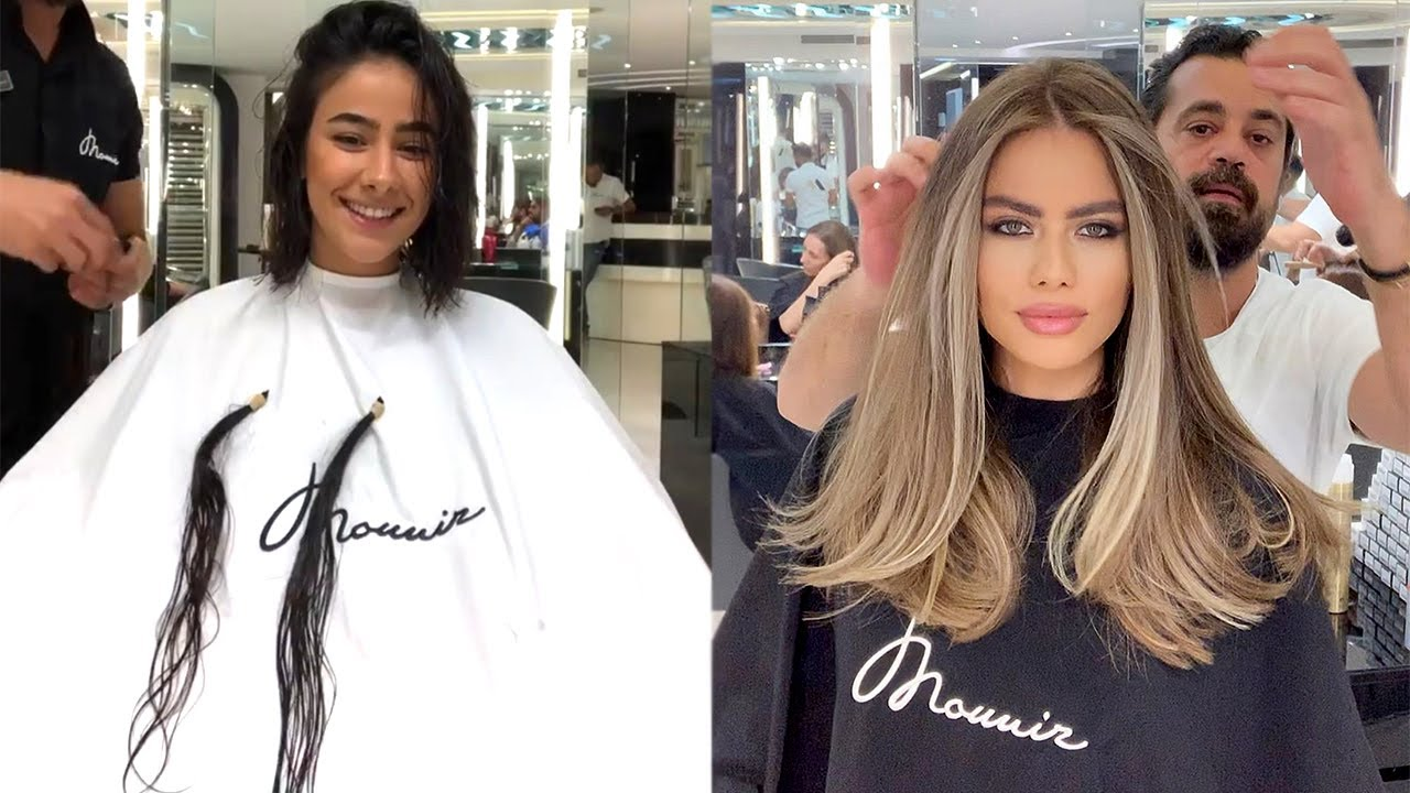 extreme long to short haircut new hairstyles tutorials by mounir salon 2020