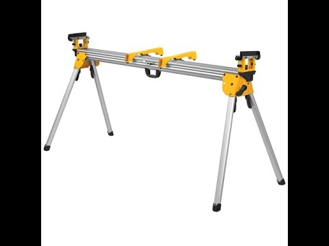 DeWalt Miter Saw Stand DWX723 The Shack tool review