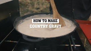 Country Gravy Recipe   Camp Chef
