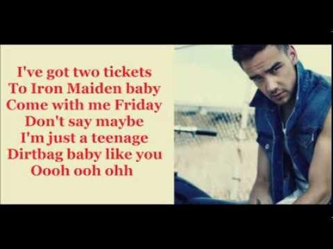 One Direction- Teenage Dirtbag lyrics - YouTube