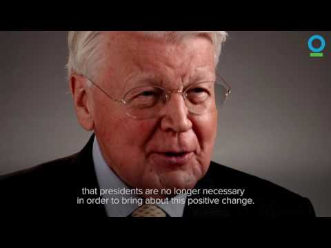 Ólafur Ragnar Grímsson on Climate Change | Conservation International (CI)