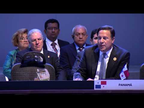 Presidente de la República de Panamá Juan Carlos Varela Rodríguez