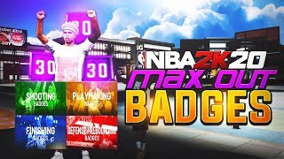 NBA 2K20 - HOW TO MAX *ALL* HALL OF FAME BADGE UPGRADES! BADGE PROGRESSION EXPLAINED.. NBA 2K20 Tips