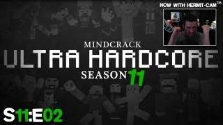 "Mindcrack UHC 11 - Ep02 ""Bat HEART ATTACKS!"""