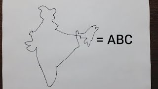 easy-trick-to-draw-the-map-of-india