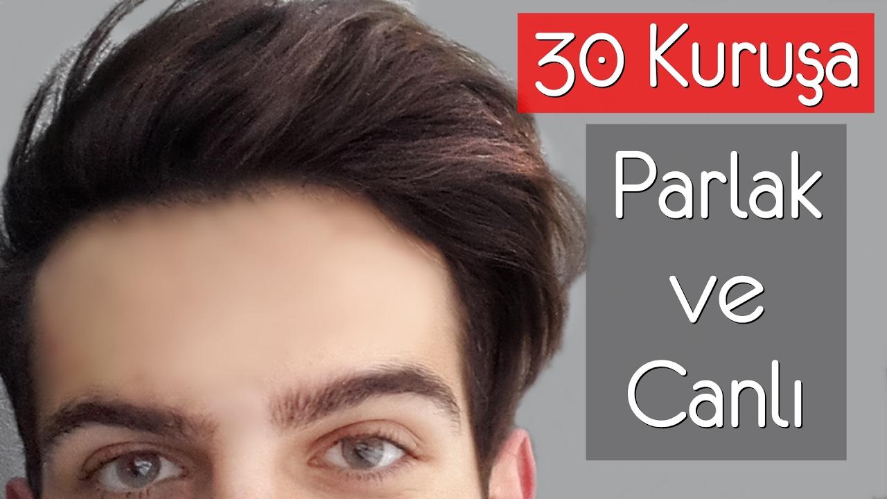 Saçları Parlak Göstermenin Yolları