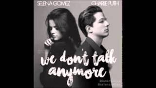 Charlie Puth We Don 39 T Talk Anymore Ft Selena
