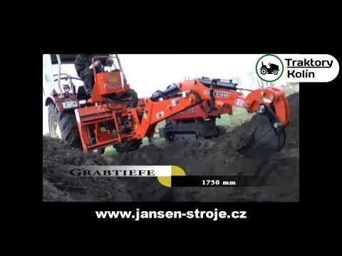 Podkop Za Traktor Jansen BHSM-175 - Traktory Kolín   Www.nejlevnejsitraktory.cz