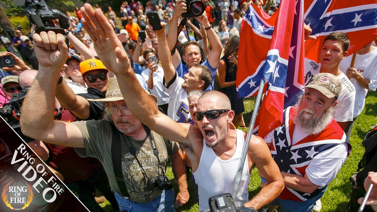Hate Groups Promise Revolt If Trump Abandons White Supremacy - YouTube