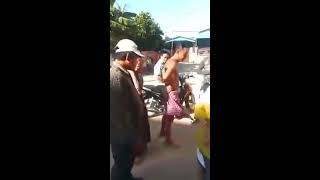 2015 11 29 thief caught after breaking into a house in cambodia