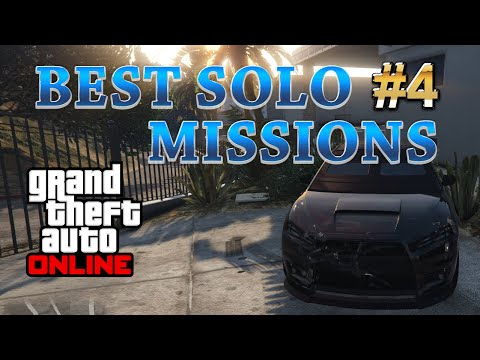 GTA 5 Online Best Solo Missions - Out of Court Settlement. Make more than $19.000 and 4000 RP