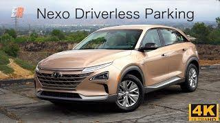 The Future of Driverless Parking -  2019 Hyundai Nexo FCEV