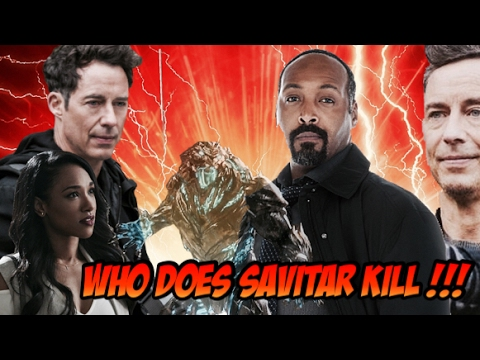 Who Does Savitar Kill In The Flash Season 3 Finale !!! Who Died In The Flash 3x23 !!!