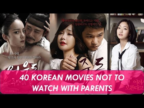 40 Korean Movies Not To Watch With Parents