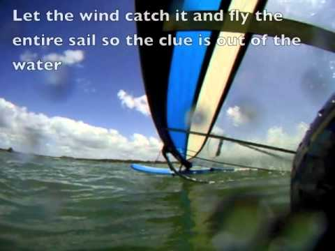 Learn how to Control Your Rig - Windsurfing Technique