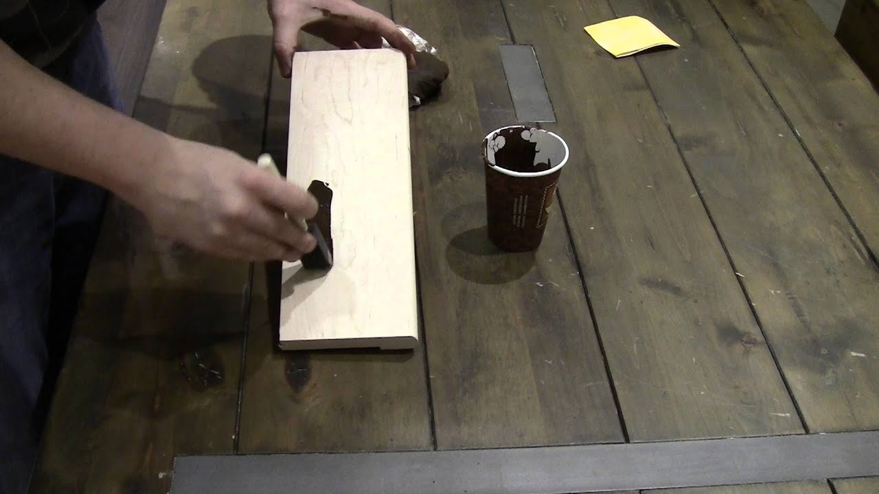 How To Stain Transitions Pieces Match Your Hardwood Flooring