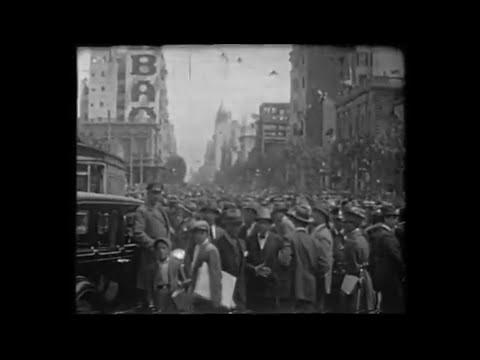 EL ENTIERRO DE JOSÉ BATLLE Y ORDÓÑEZ (1929)