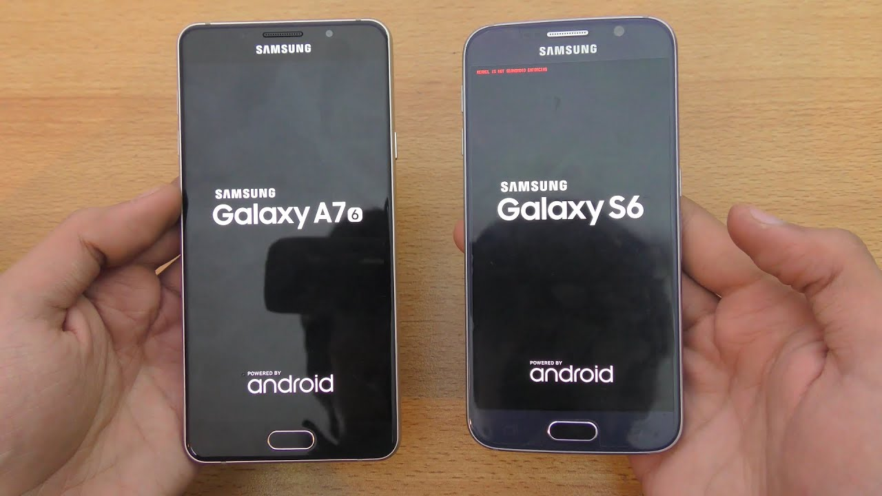 samsung galaxy a7 2016 vs galaxy s6 speed camera. Black Bedroom Furniture Sets. Home Design Ideas