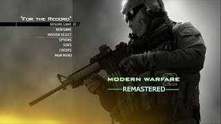 MW2 REMASTERED WILL HAVE NO MULTIPLAYER, JUST THE CAMPAIGN... WTF???
