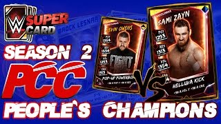 EVENTO PCC KEVIN OWENS Vs SAMI ZAYN | WWE SUPERCARD S2 | Chorly