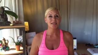 I Love Yoga because.....Gwen.