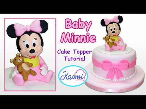 Minnie Mouse Cake Topper Tutorial