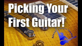 Picking Your First Guitar