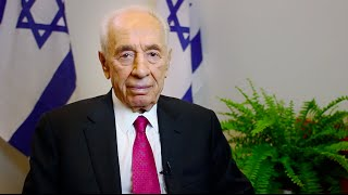 Shimon Peres, President of Israel, Addresses BBYO IC 2015
