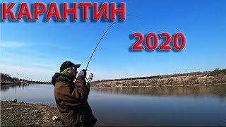 ДА что же это такое?Карантин! Рыбалка на спиннинг в Запрет 2020