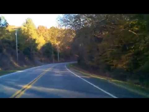 Scenic Drive on Highway 48 in Hickman County