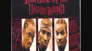 Lords of the Underground: What I