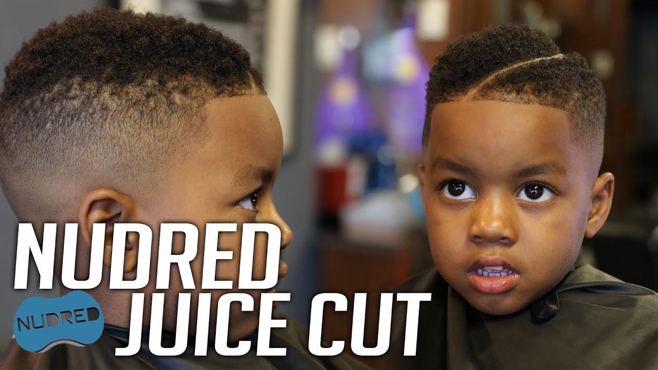 juice haircut design fade