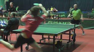 Павел ПУЛЬНЫЙ - Михаил ХОМУТОВ Настольный теннис, Table Tennis