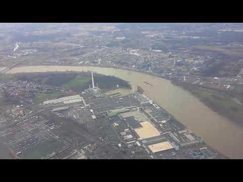 Air Arabia 3O223 _ Landing at Cologne Bonn Airport