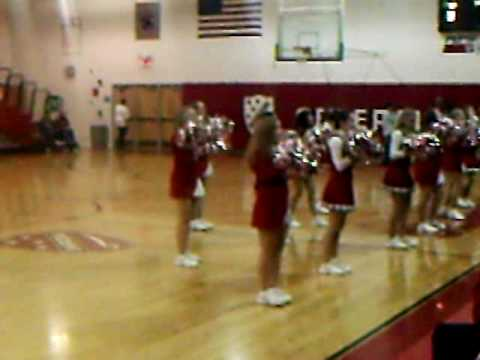 Sheridan Middle School Cheerleaders