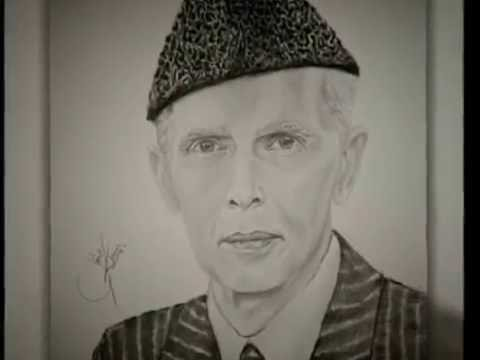 Pencil Sketches Of Quaid E Azam