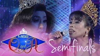 It's Showtime Miss Q & A Semifinals: Elsa Droga vs. Maria Katrina Lopez   Di Ba? Teh! Ganern