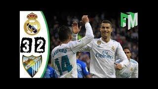 REAL MADRID vs MALAGA : Liga Santander 2017 Buts et Résumé du match
