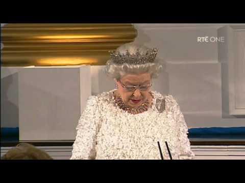 The Queens Speech in Dublin Castle