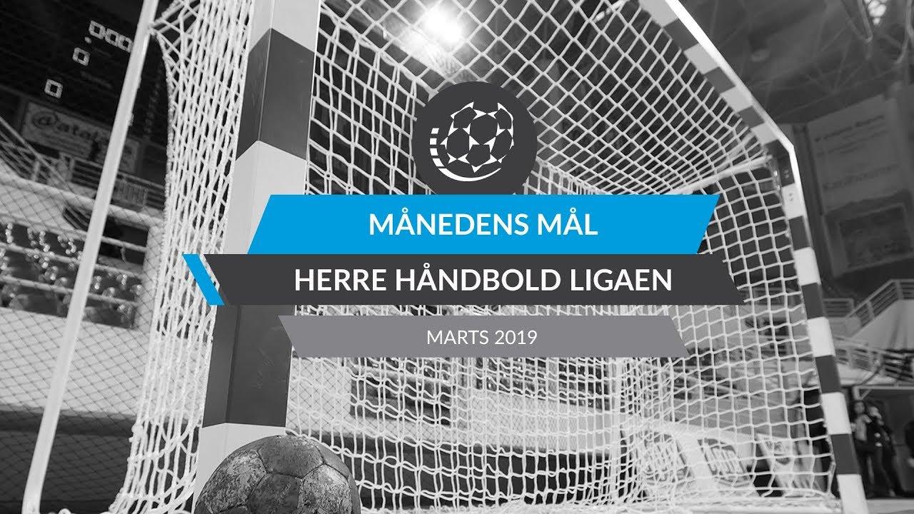Månedens Mål Marts 2019 Herre Håndbold Ligaen Youtube