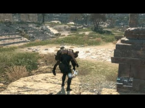METAL GEAR SOLID V: Quiet Boss Fight - (NON-LETHAL) CQC Method